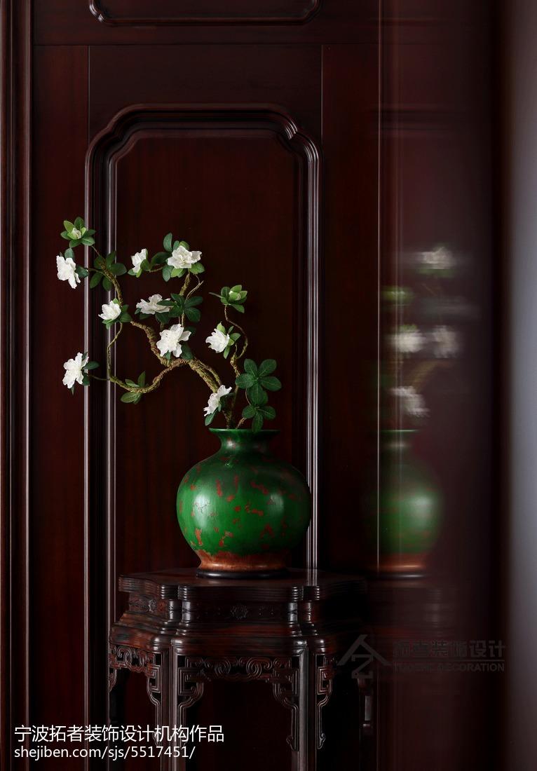 精美138平方四居客厅中式装饰图