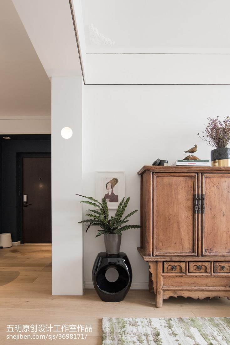 2018精选面积87平小户型客厅混搭效果图片