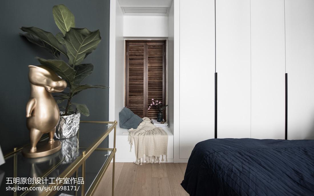 热门面积72平小户型卧室混搭效果图片欣赏