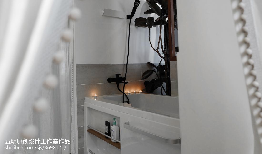 华丽25平混搭小户型卫生间设计美图