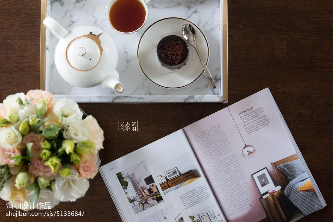 热门94平方三居客厅美式实景图片欣赏