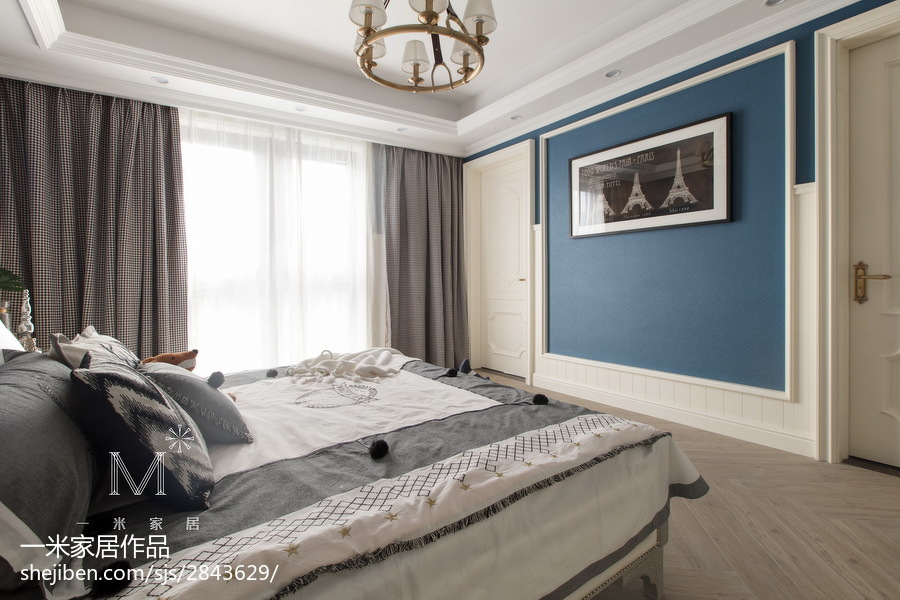2018别墅卧室装修效果图片