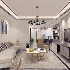 精选123平米四居客厅现代装修图片大全