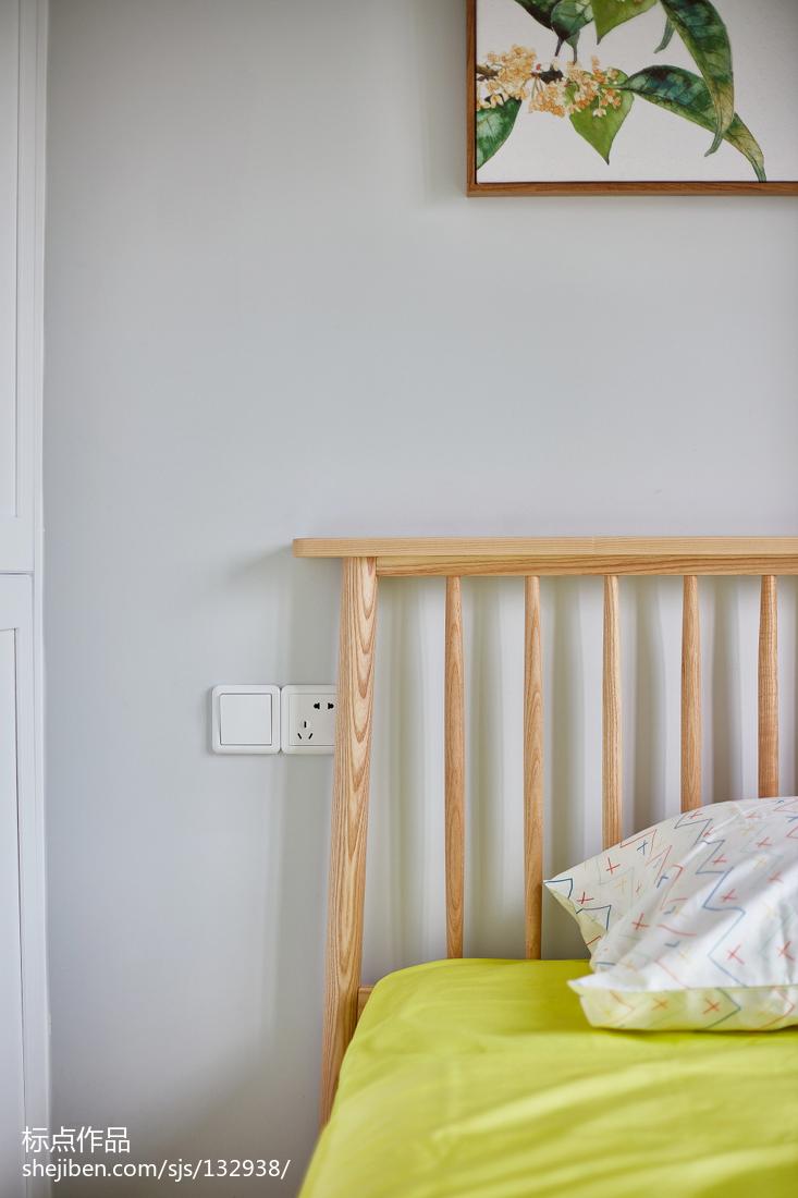 热门137平米四居卧室北欧装饰图片欣赏