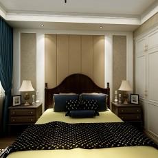 热门二居卧室美式装修欣赏图