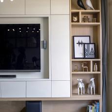 典雅104平现代三居客厅装修设计图