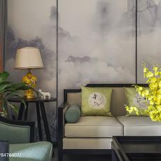 热门大小109平中式三居客厅装修设计效果图片欣赏