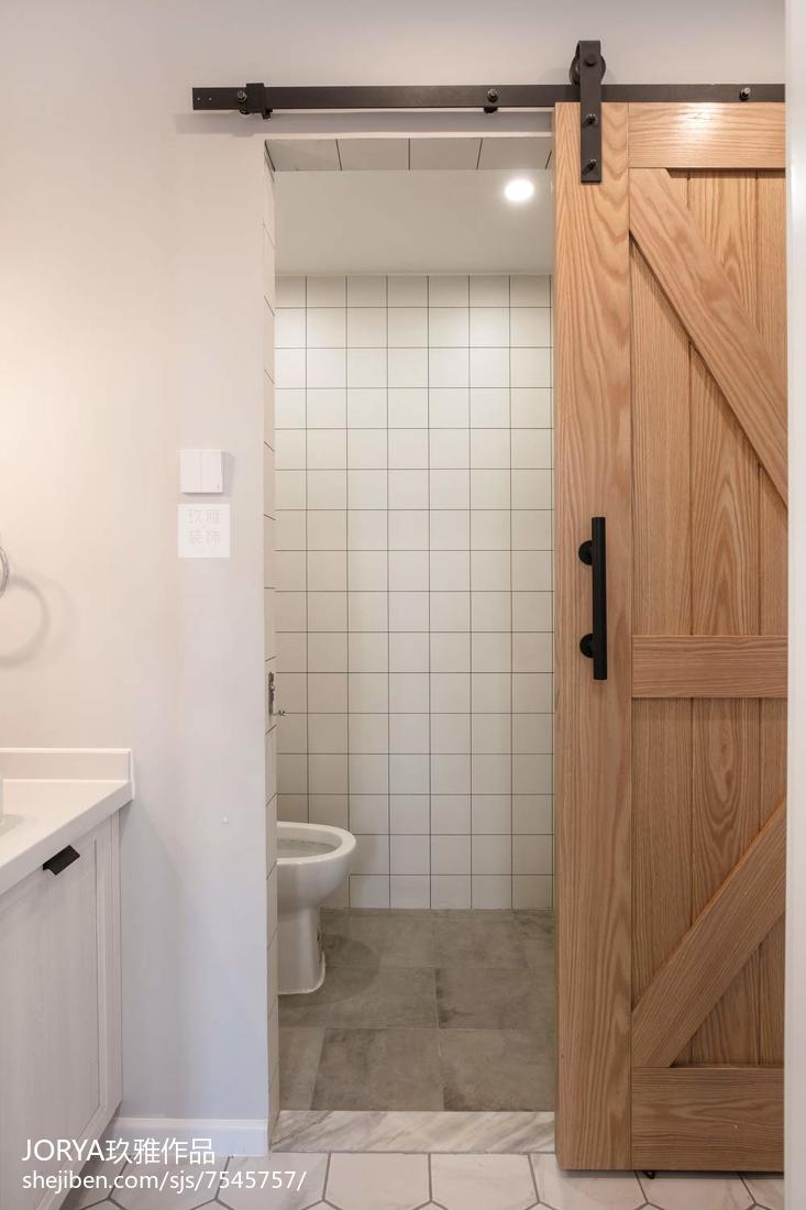 精美71平米二居卫生间现代装饰图片欣赏