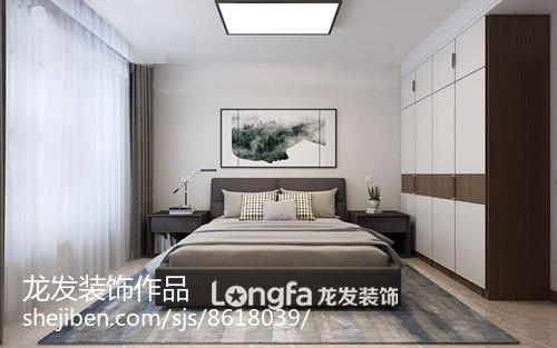 120平米三居室装修效果图 清新恬淡