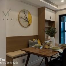 现代时尚餐厅背景墙