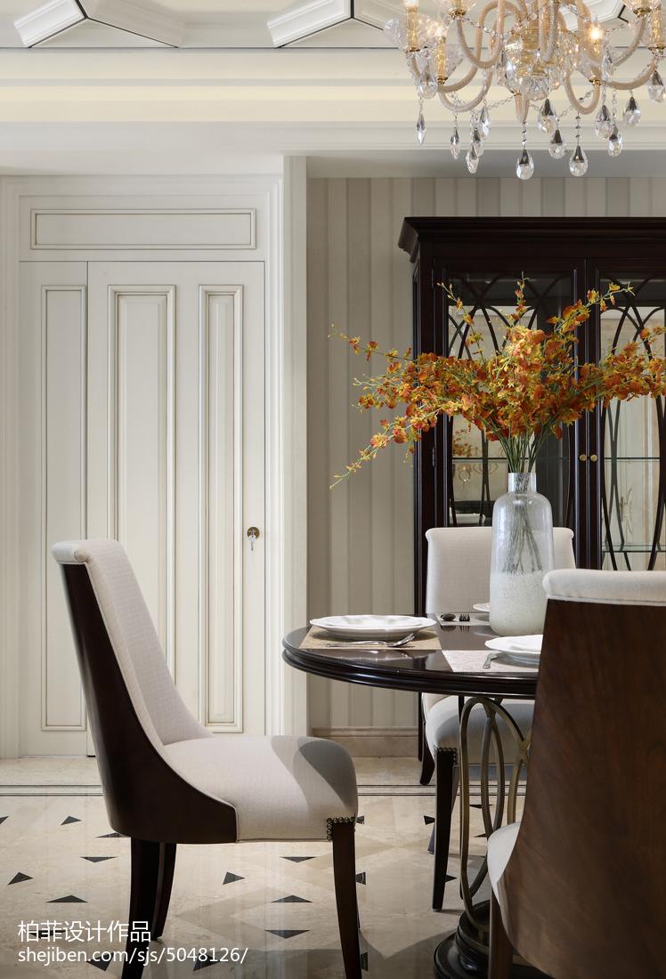 精选面积91平欧式三居餐厅设计效果图