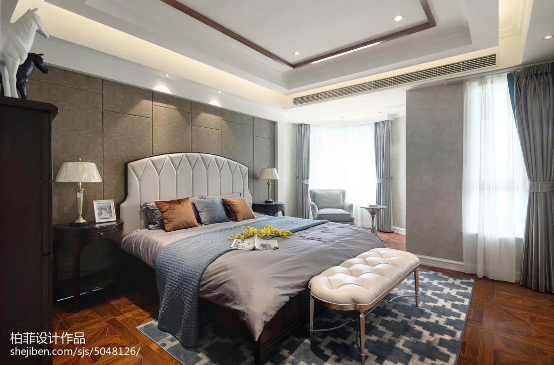 30万打造浪漫温馨欧式风格卧室装修效果图大全2012图片
