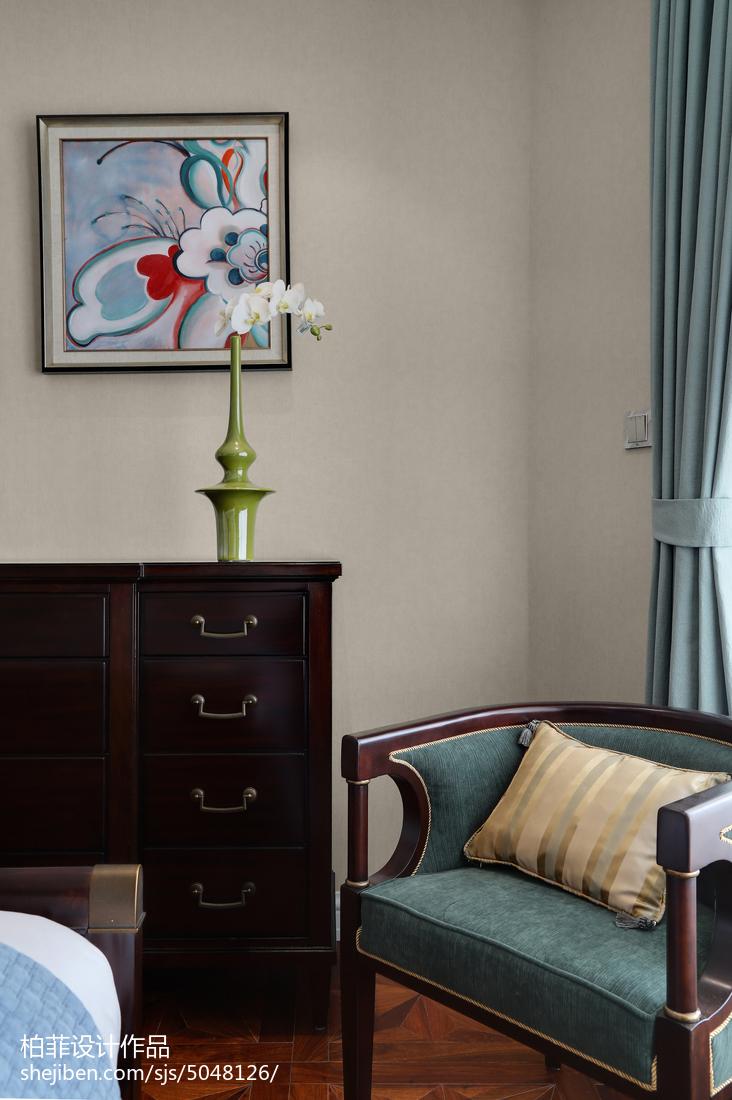 精美98平方三居卧室欧式实景图片欣赏