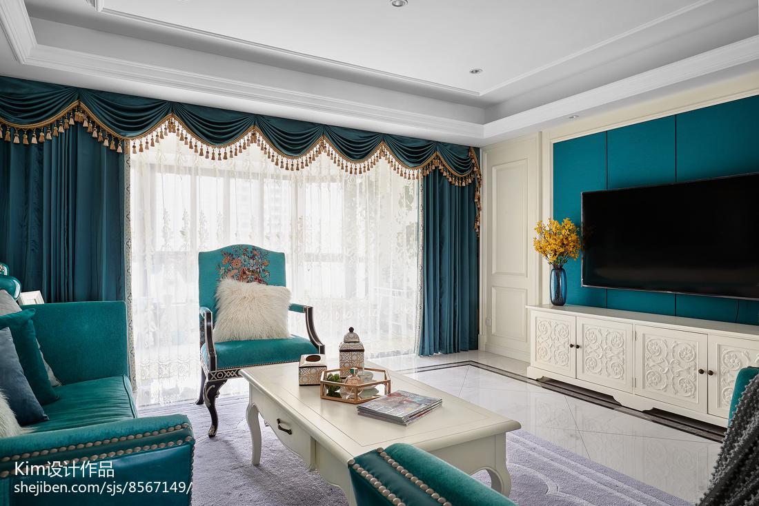 2018精选复式客厅装饰图