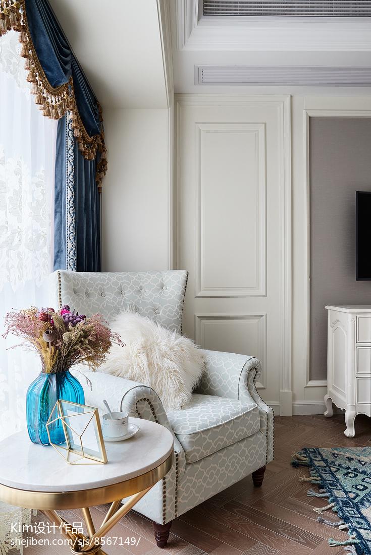 2018精选面积113平复式卧室装修图