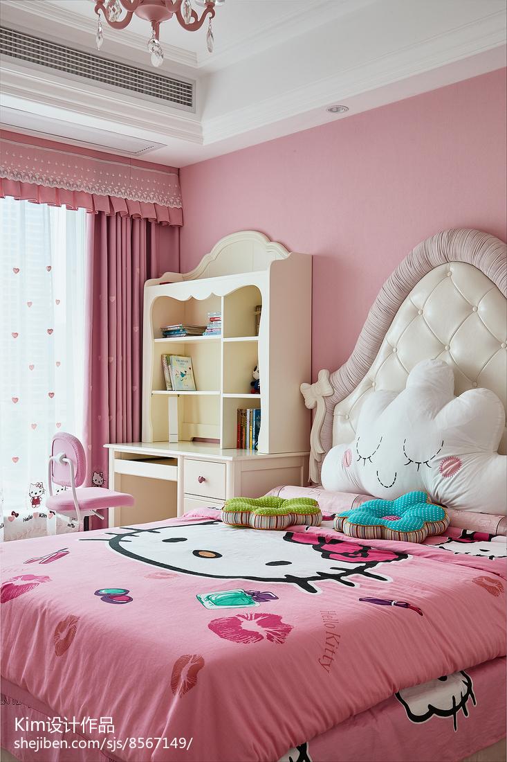 法式混搭儿童房设计图