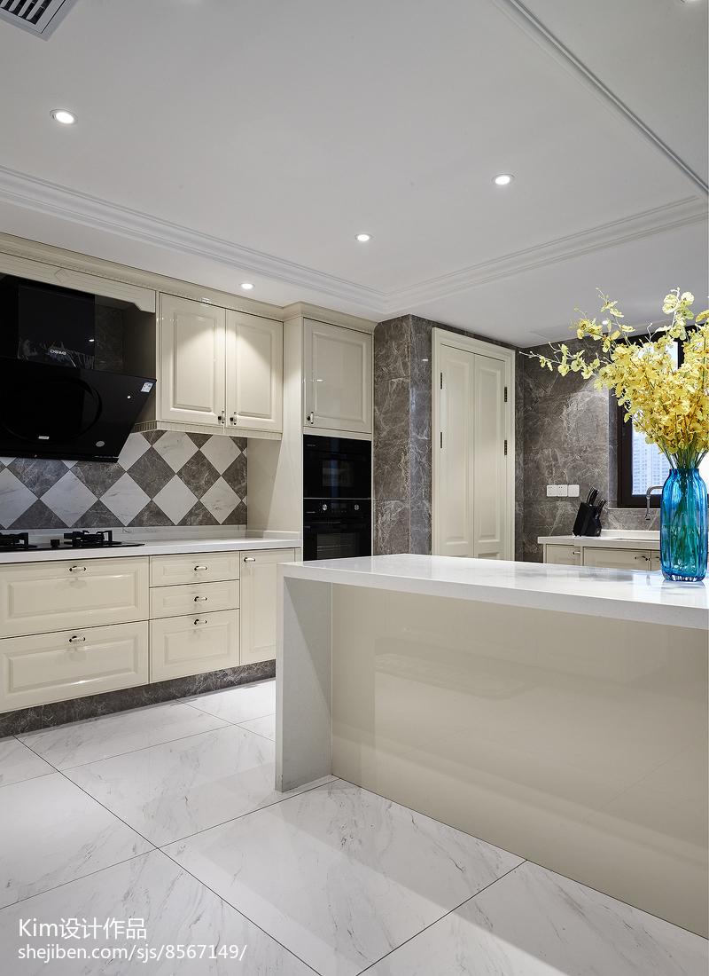 2018119平米复式厨房装修效果图片欣赏