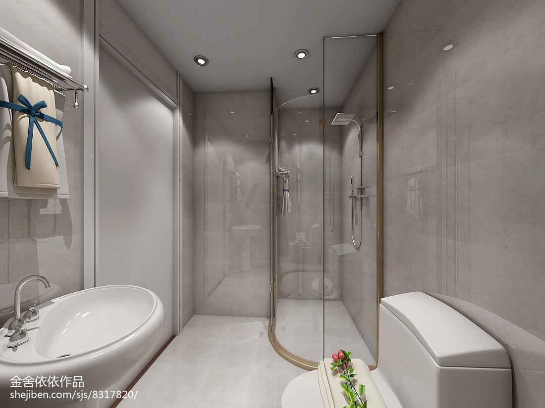 简约风格复式卫生间图片欣赏大全
