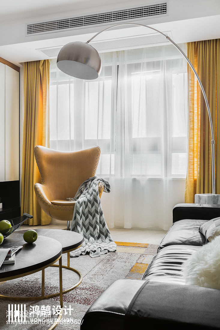 精选大小99平简约三居客厅装饰图片欣赏