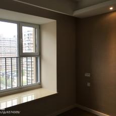 2018精选96平米三居卧室混搭装饰图片
