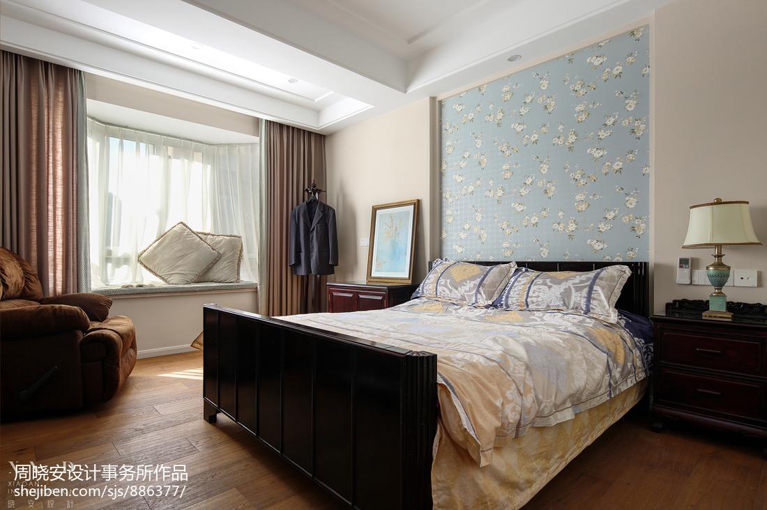 大气99平美式四居卧室装饰美图