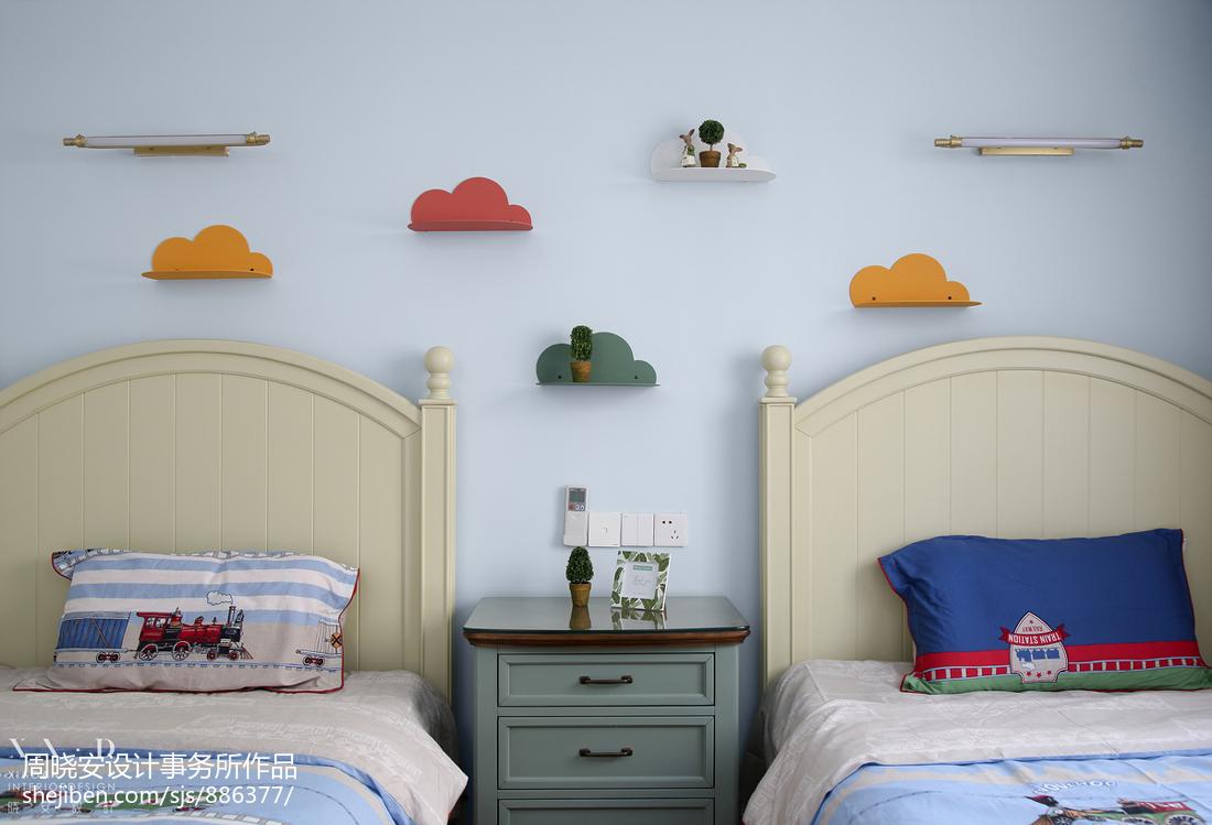 精美116平美式四居儿童房效果图欣赏