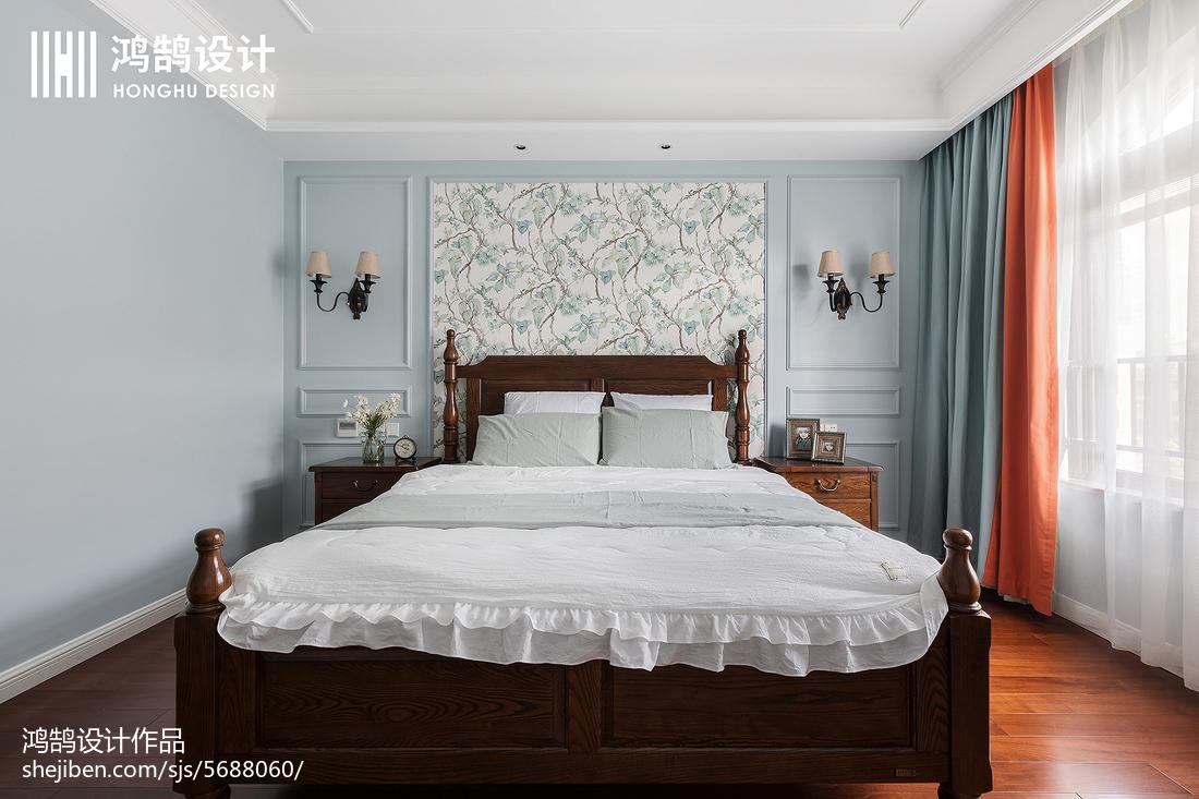 201894平米三居卧室美式装修图片