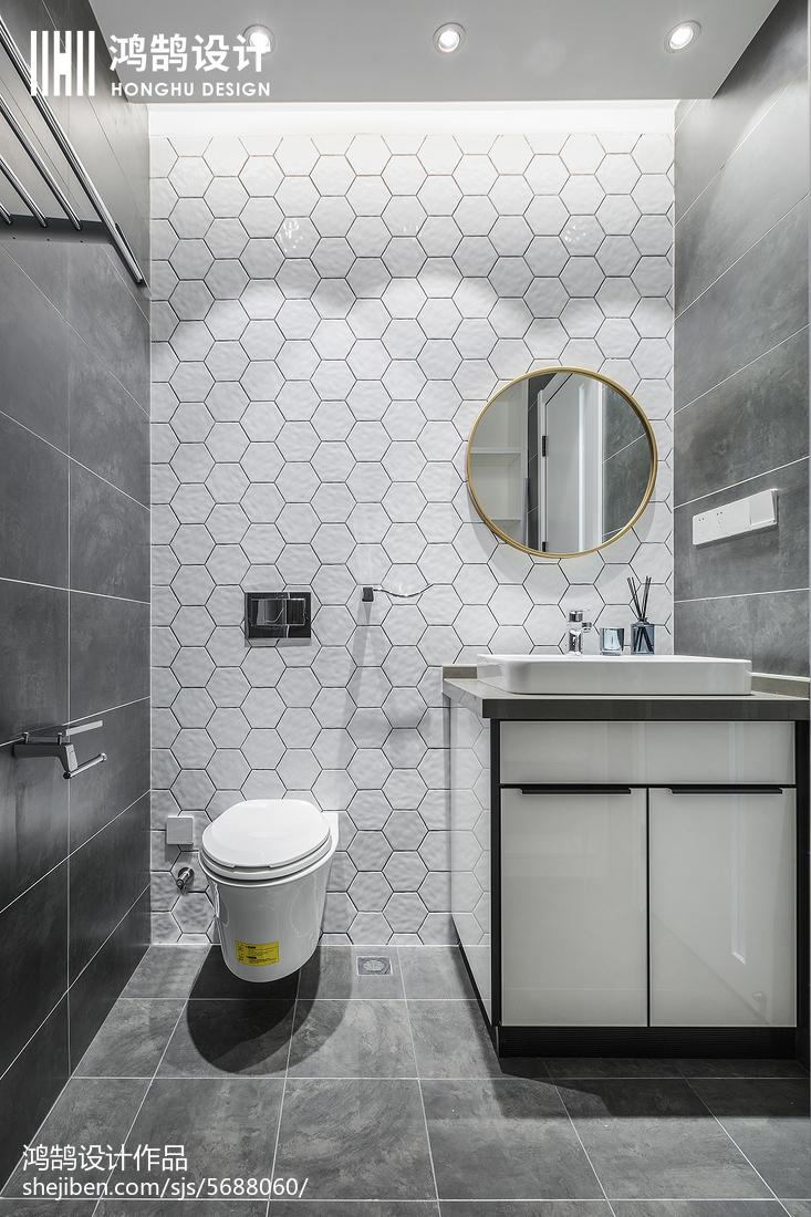 热门三居卫生间现代设计效果图