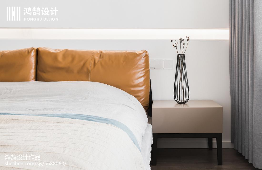 面积104平现代三居卧室装修设计效果图片欣赏
