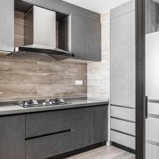 2018109平米三居厨房现代装饰图片