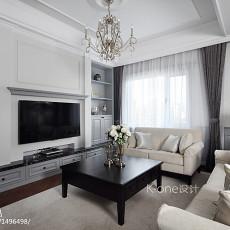 2018精选138平米美式别墅客厅装修效果图片欣赏