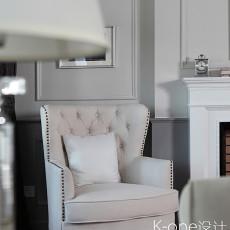 精选140平米美式别墅客厅装修实景图片大全