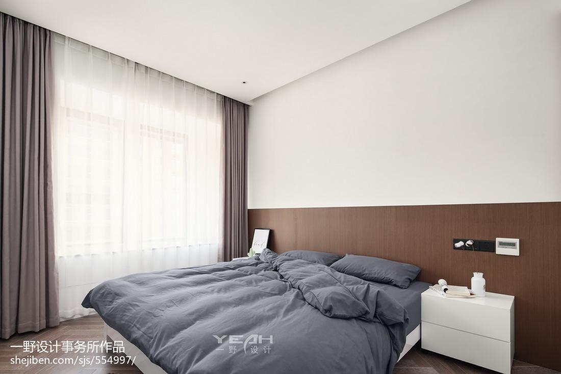 98m²现代风格主卧设计图