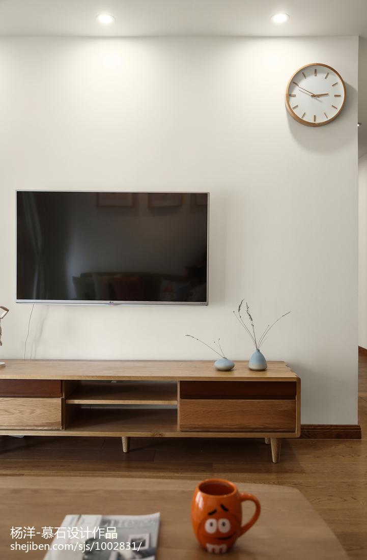 优雅117平日式三居客厅装修装饰图