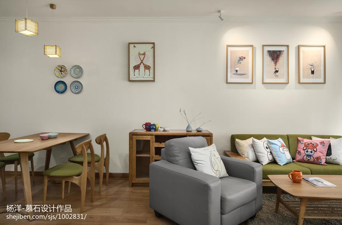 热门日式三居客厅欣赏图片大全
