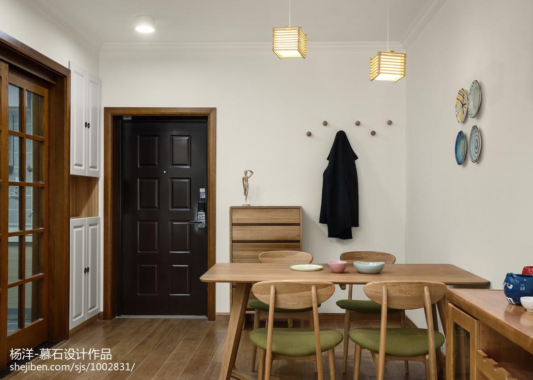 质朴83平日式三居餐厅设计案例