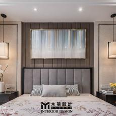 2018精选大小92平中式三居卧室装修效果图片大全