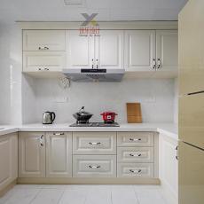 93平米三居厨房欧式装饰图片欣赏