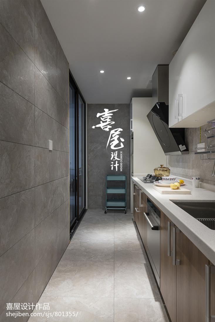 热门二居厨房北欧装修效果图片