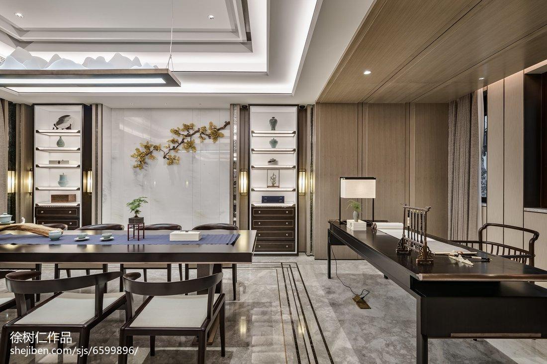 精美138平米中式别墅餐厅欣赏图