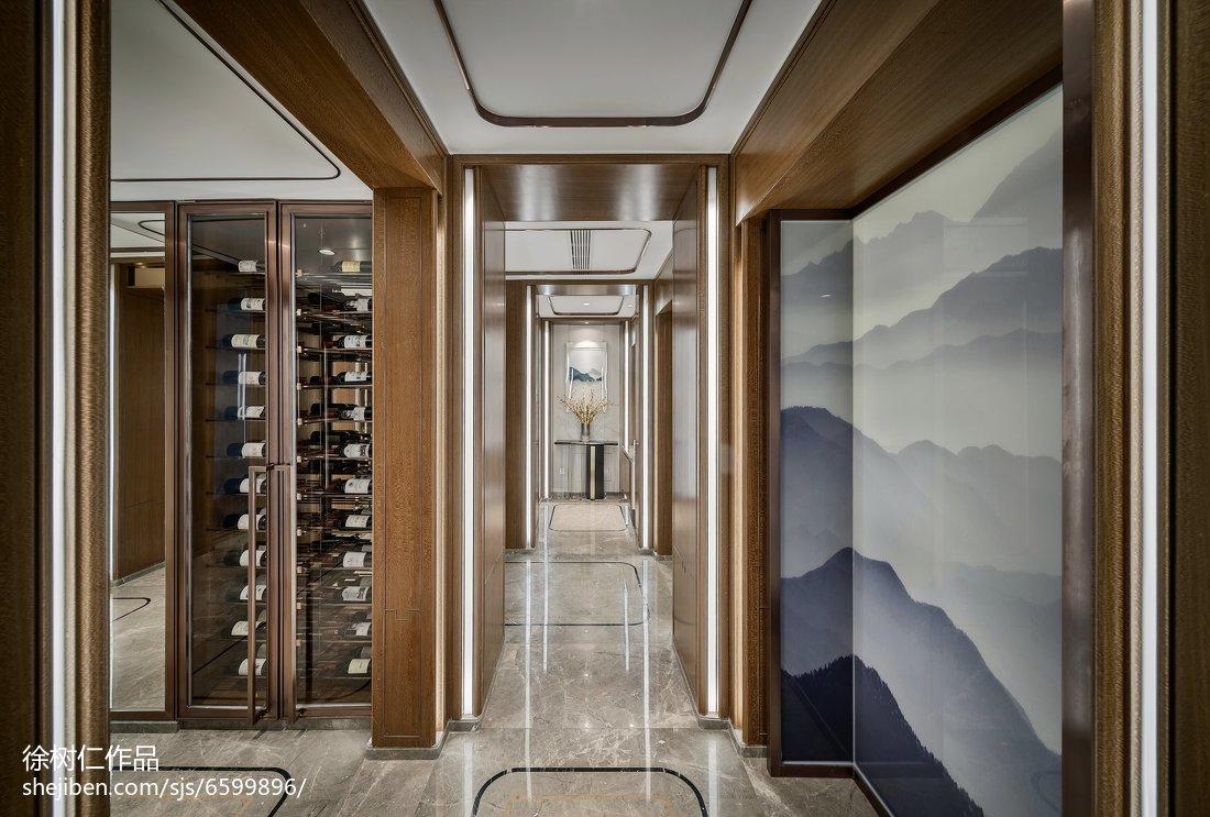 精美119平米中式别墅餐厅装修欣赏图片
