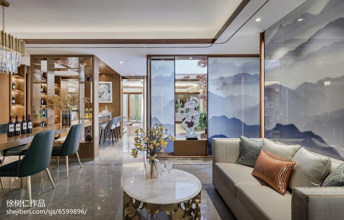 2018精选别墅餐厅中式装修设计效果图片