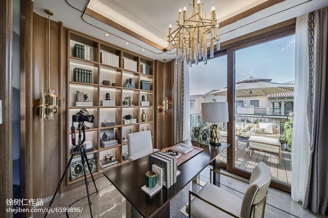 热门122平米中式别墅卧室装修欣赏图