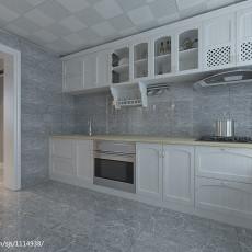 113平米现代复式厨房装修效果图