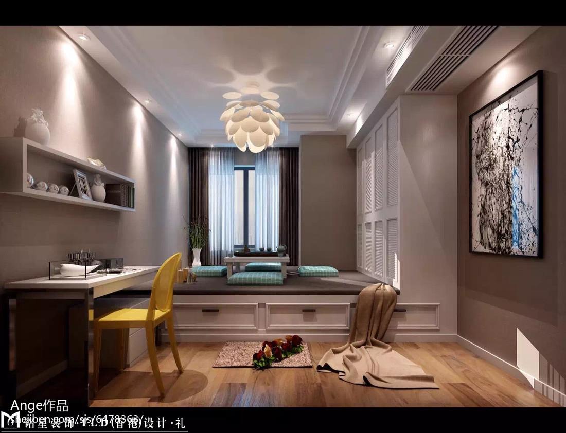 北欧简约卫生间设计室内效果图片