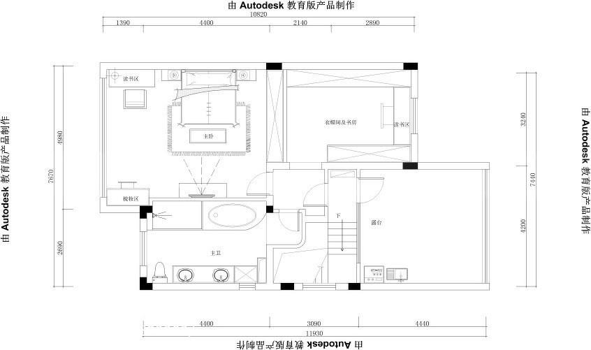日式现代两居装饰效果图片