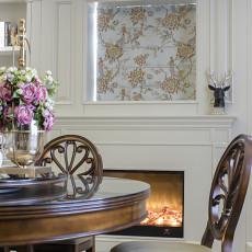 精选94平米三居餐厅美式装修图片