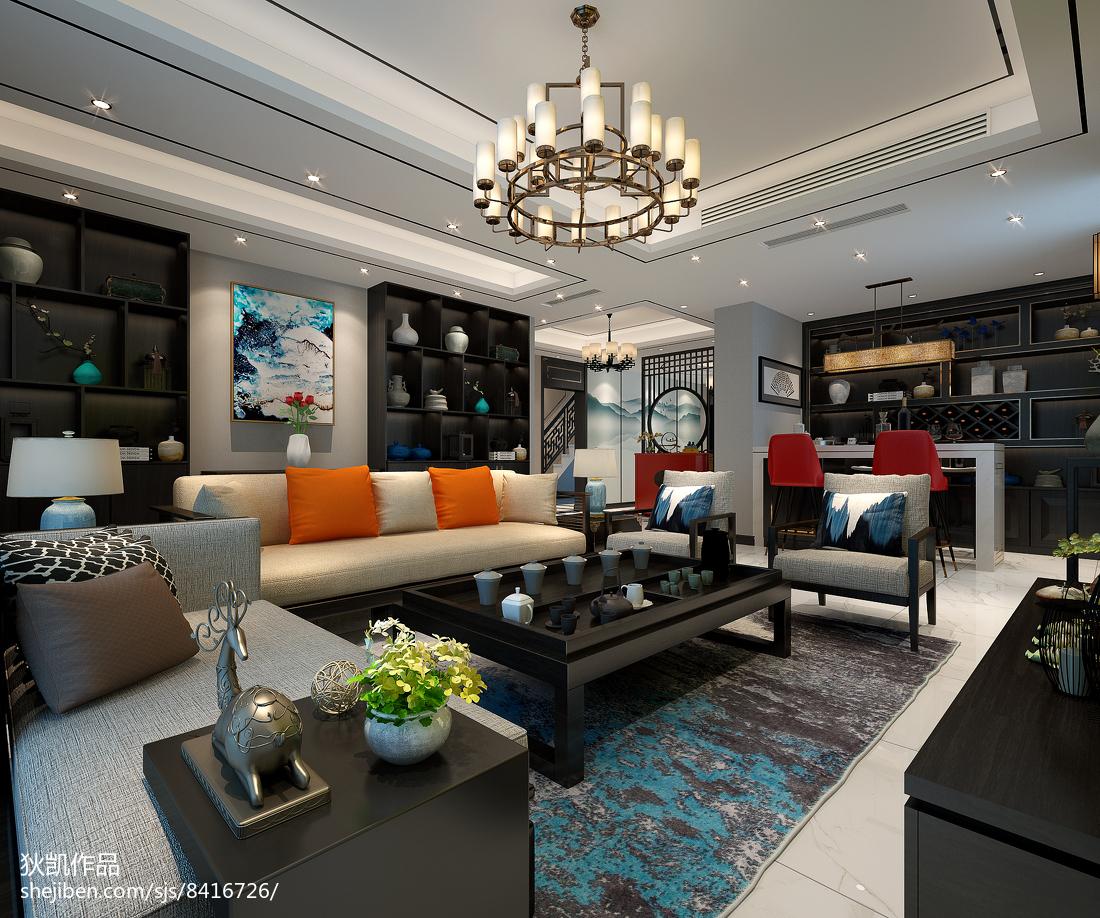 美式小客厅大全欣赏