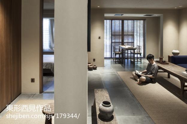2018精选91平米三居客厅中式装修图片欣赏