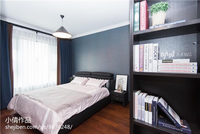 简欧风格卧室装饰设计效果图欣赏